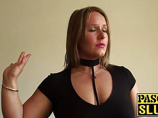 Sexy golden-haired ashley rider acquires her taut slit destroyed hard