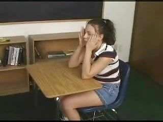 Schoolgirl receives anally punished by her teachers thong on