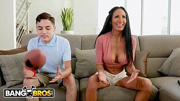 Bangbros - football night turns into fuck night with breasty amia miley