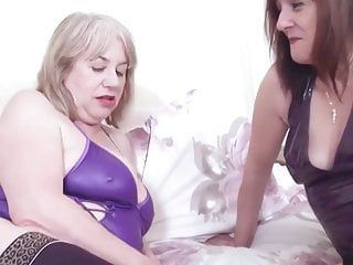 Oldnanny british matures lesbo whoppers and vagina