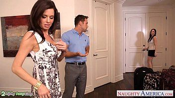 Brunettes india summer and veronica avluv share a large 10-pounder