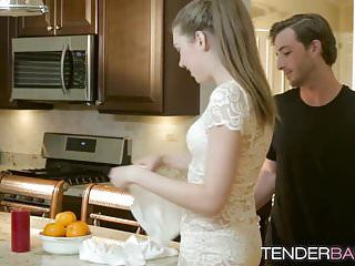 Miniature hawt honey elena koshka rides hard dick in kitchen