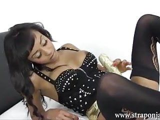 Milf lezdom copulates breasty honey lustful soaked fur pie with large ding-dong