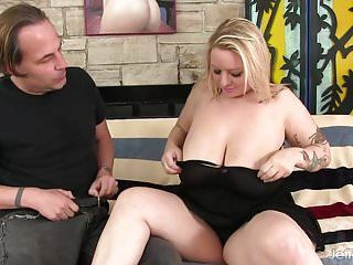 Hawt golden-haired bbw sinful samia anal